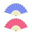Elegant Folding Fans vector image