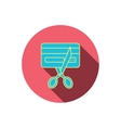 Expired credit card icon Shopping sign vector image vector image