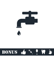 Faucet icon flat vector image