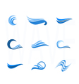 Set of Water and wave Design Elements Can be used