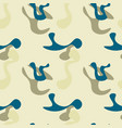 simple camouflage seamless pattern vector image vector image