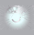sports car wheel hub vector image vector image