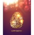 The Easter egg vector image vector image