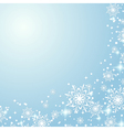 Winter holidays background vector image vector image
