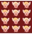 Set of fairy girls vector image