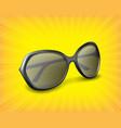 sunglasses 3d icon vector image