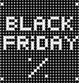 black friday dots vector image vector image