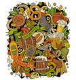 cartoon doodles beer fest oktoberfest funny