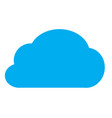 cloud icon on white background cloud icon for vector image vector image