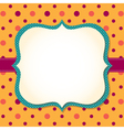 frame background vector image vector image