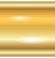 Gold texture horizontal 1 vector image vector image