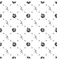 Hand drawn dot pattern vector image vector image