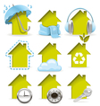 Housing icons vector | Price: 3 Credits (USD $3)