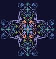 oriental ornament design vector image vector image