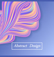 rainbow pastel wave background abstract colorful vector image