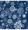 snowflakes seam vector image vector image