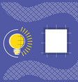 square with geometric figures pattern vector image vector image