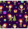 Elf helpers vector image