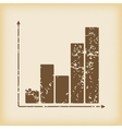 Grungy graphic icon vector image
