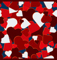 valentine day red hot hearts camo background
