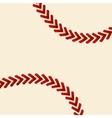baseball ball background vector image vector image