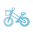 bicycle transport game adventure sport vector image