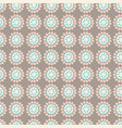 floral geometric seamless repeat pattern vector image vector image