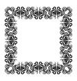 frame black vector image vector image