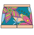 Shorts colorful vector image vector image