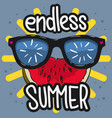 summer design for t shirt media vector image