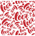 romantic red love patterns backgrounds set vector image