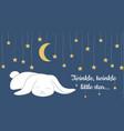 twinkle twinkle little star vector image