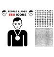 champion icon with bonus vector image vector image
