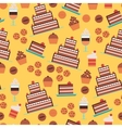 Confectionery Seamless Pattern vector image vector image