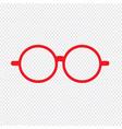 glasses icon sign design vector image vector image