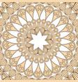 mandala ornament pattern vintage decorative vector image vector image