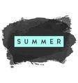Summer Greeting Card Design vector image