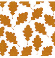 dry leaves background vector image vector image