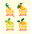 fresh set vector image vector image