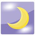 moon 02 vector image vector image