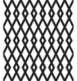 seamless pattern with black rhombuses on white vector image vector image