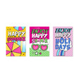 vertical banner for summer holiday and vacation vector image vector image