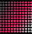 vibrant pink polka dots or halftone pattern vector image