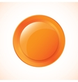 Glossy Plastic Button vector image