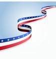 USA flag background vector image