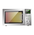 board microwave oven vector image