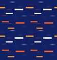 3d horizontal geometric seamless pattern vector image