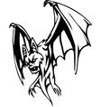 bat - halloween set vector image vector image