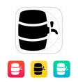 Beer barrel icon