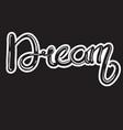 dream vector image